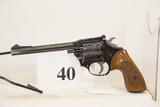 High Standard, Model Camp Gun, Revolver, 22 cal,