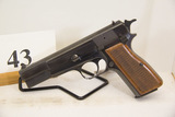 Browning, Model High Power, Semi Auto Pistol,