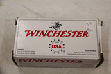 1 Box of 40, Winchester 38 Spl 130 gr FMJ