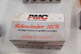1 Box of 500, PMC Sidewinder 50's 22 LR