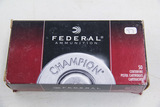 1 Box of 50, Federal 9 mm Luger 115 gr FMJ RN