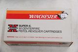 1 Box of 50, Winchester Super X 38 spl 158 gr HP