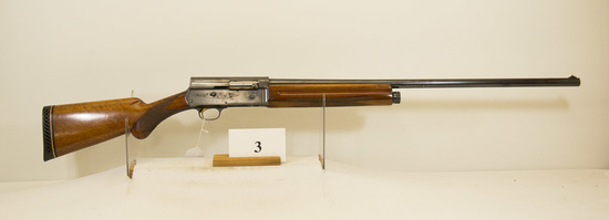 Browning, Model A-5, Semi Auto Shotgun, 12 ga,