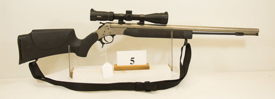 C.V.A., Black Powder Optuna, Rifle, 50 cal, 3 x 9