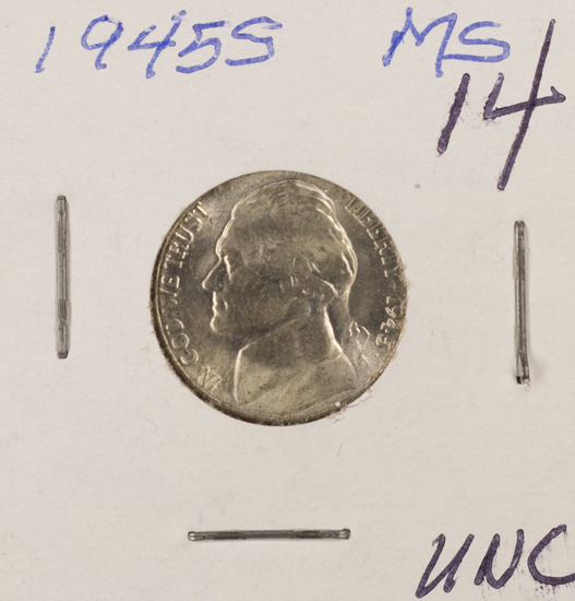 1945-S Silver Jefferson Nickel UNC