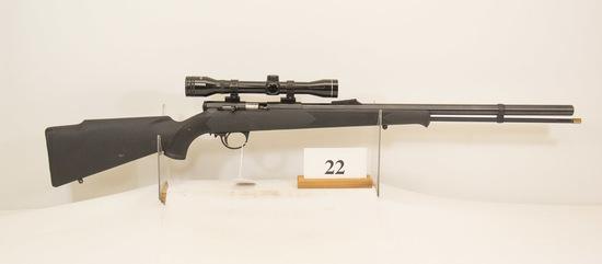 C V A, Black Powder Rifle, 50 cal, 4 x Tasco Scope