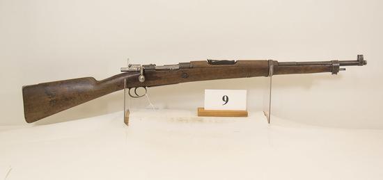 Military, Model Mauser, Bolt Rifle, 7.62 cal,