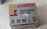1 Box of 25, Winchester Super X 28 ga 2 3/4