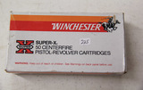 1 Box of 50, Winchester 9 mm luger Parabellum