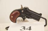 Davis, Model DM-22, Derringer, 22 cal,
