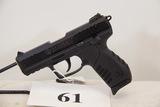 Ruger, Model SR22, Semi Auto Pistol, 22 cal,