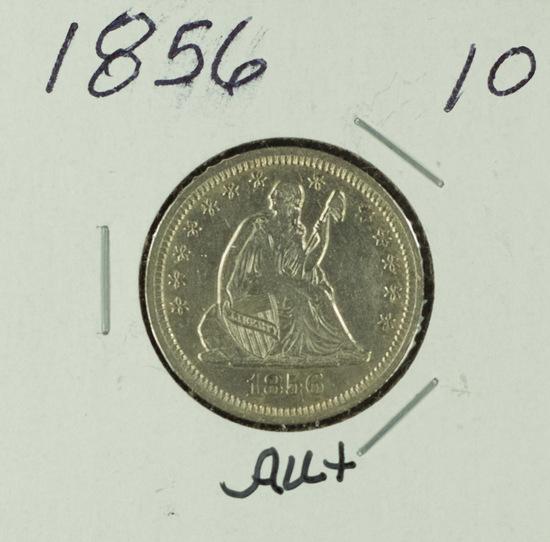 1856 - LIBERTY SEATED QUARTER