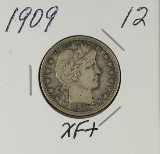 1909 - BARBER QUARTER - XF