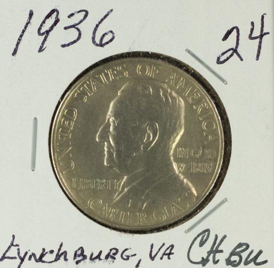 1936 - COMMEMORATIVE HALF DOLLAR - GEM BU