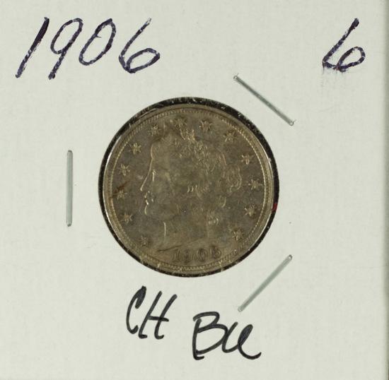 "1906 LIBERTY ""V"" NICKEL CH BU"