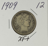 1909 - BARBER QUARTER - XF