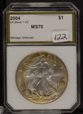 2004 - TONED SILVER EAGLE