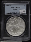 2006-W PCGS MS69 - SILVER EAGLE