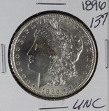1896  MORGAN DOLLAR - UNC