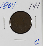 1864 TWO CENT PIECE - G