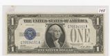 SERIES OF 1928-A ONE DOLLAR SILVER CERTIFICATE