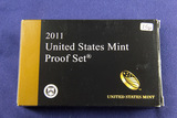 2011 PROOF SET - 14 PIECE W/5- $1.00 CAMEO SET