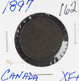 1897 - CANADIAN LARGE CENT - XF+