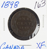 1898 - CANADIAN LARGE CENT - XF