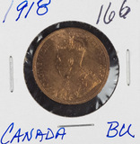 1918 - CANADIAN LARGE CENT - BU
