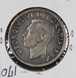 1949 - CANADIAN SILVER DOLLAR - UNC