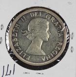 1953 - CANADIAN SILVER DOLLAR - UNC