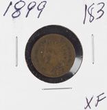 1899 - INDIAN HEAD CENT - XF
