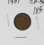 1901 - INDIAN HEAD CENT - AU