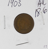 1903- INDIAN HEAD CENT - AU