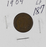 1904 - INDIAN HEAD CENT - XF