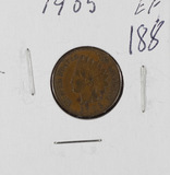 1905 - INDIAN HEAD CENT - XF