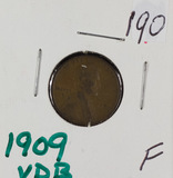 1909 -VDB LINCOLN CENT - F