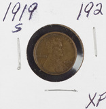 1919-S LINCOLN CENT - XF