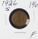 1926-S LINCOLNCENT - F
