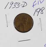 1933-D LINCOLN CENT - F