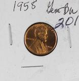 1958 -LINCOLN CENT - AU