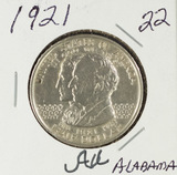 1921 - COMMEMORATIVE HALF DOLLAR - AU
