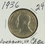 1936 - COMMEMORATIVE HALF DOLLAR - GEM BU