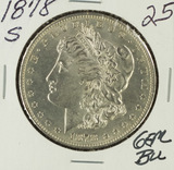1878-S MORGAN DOLLAR - BU