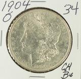 1904-O MORGAN DOLLAR - CH BU
