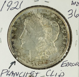 1921 - ERROR - MORGAN DOLLAR