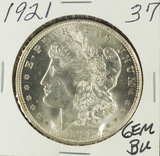 1921 - MORGAN DOLLAR - GEM BU