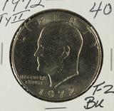 1972 - TYII EISENHOWER DOLLAR - BU