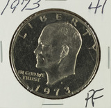 1973 PROOF EISENHOWER DOLLAR - BU