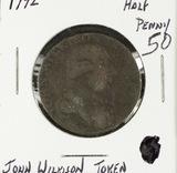 1792 - 1/2 PENNEY CONDOR TOKEN